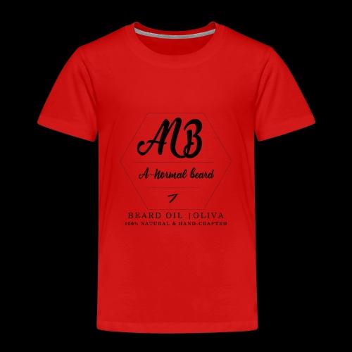 Beard Oil | Oliva Logo - Kinder Premium T-Shirt