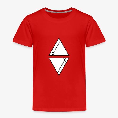 Logo Schwarz mit weißer Füllung - Kinder Premium T-Shirt