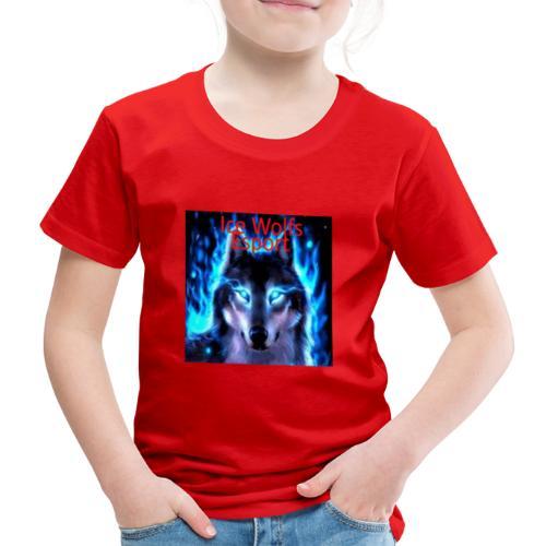 Ice Wolfs Esport Merch - Børne premium T-shirt