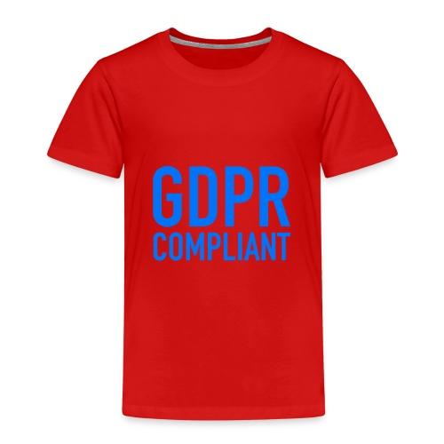 GDPR COMPLIANT - Maglietta Premium per bambini