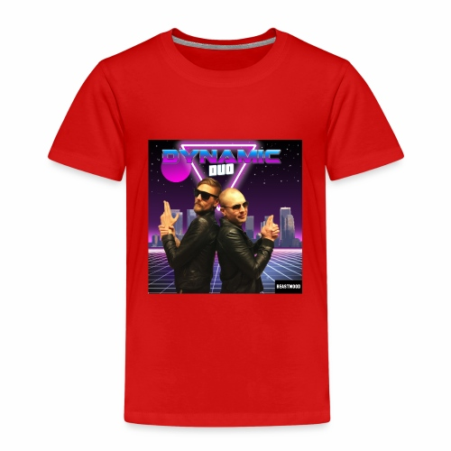 RETRO BEAST MOOD - Premium-T-shirt barn