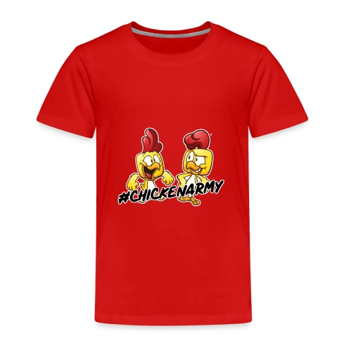 #ChickenArmy Design - Kinder Premium T-Shirt