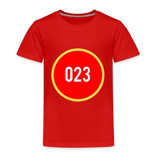 023 logo 2 - Kinderen Premium T-shirt
