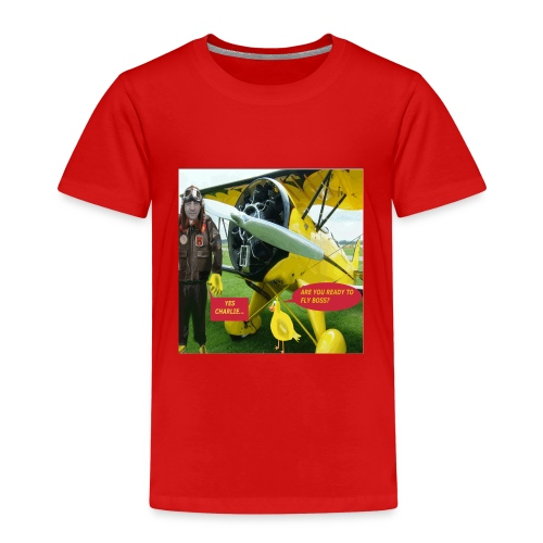 ARE YOU READY TO FLY - Kids' Premium T-Shirt
