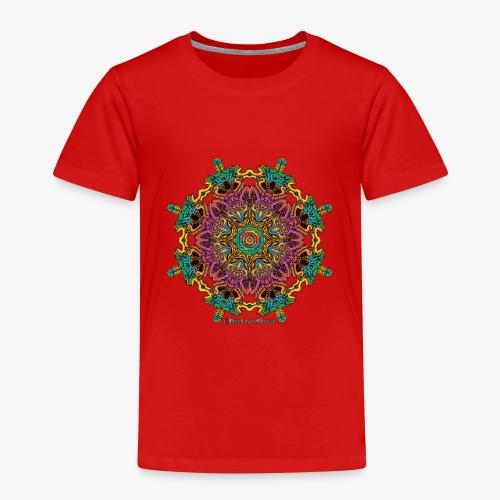 Caleidoscoop mandala - Kinderen Premium T-shirt