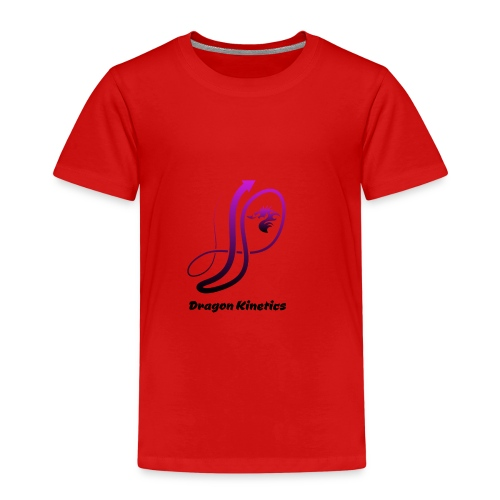 Dragon Kinetics purple logo - Kids' Premium T-Shirt