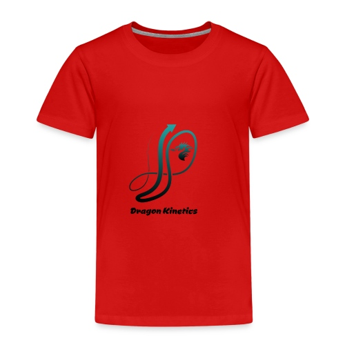 Dragon Kinetics green logo - Kids' Premium T-Shirt