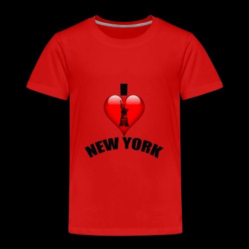 I love New York mit Herz - Kinder Premium T-Shirt