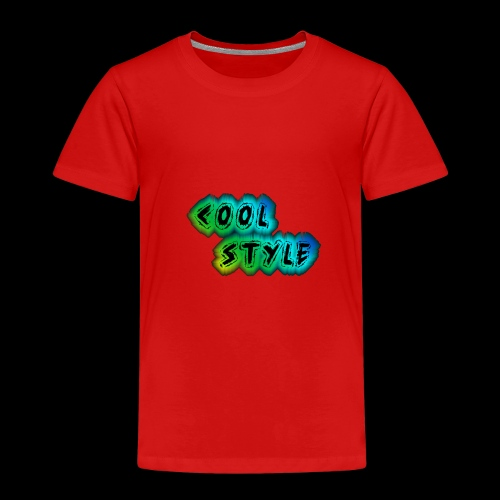cool style - Kinder Premium T-Shirt