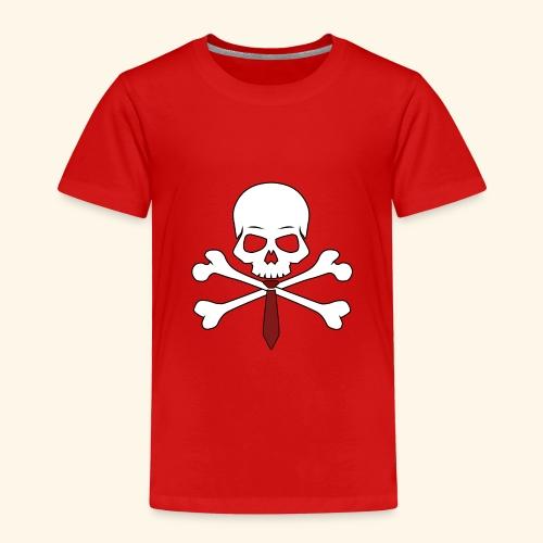 Totenkopf mit Krawatte - Kinder Premium T-Shirt