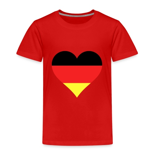 Deutsches Herz - Kinder Premium T-Shirt