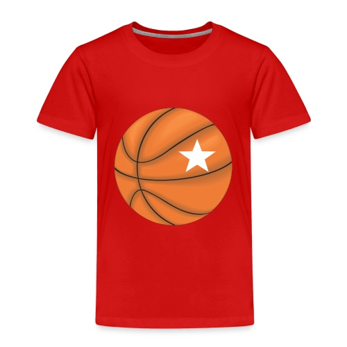 Basketball Star - Kinderen Premium T-shirt
