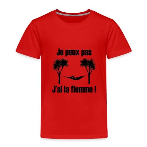 je peux pas je suis de repos - T-shirt Premium Enfant