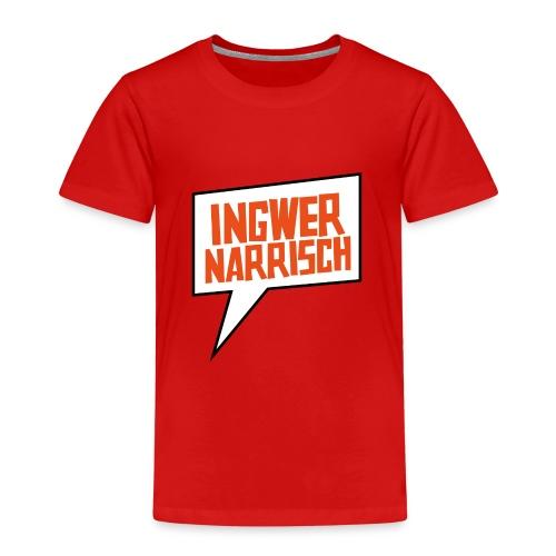 Ingwer Narrisch Logo - Kinder Premium T-Shirt