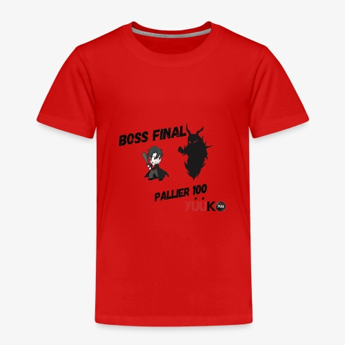 Boss final - T-shirt Premium Enfant
