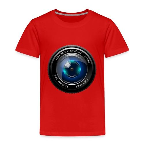 Camera Lens - Maglietta Premium per bambini