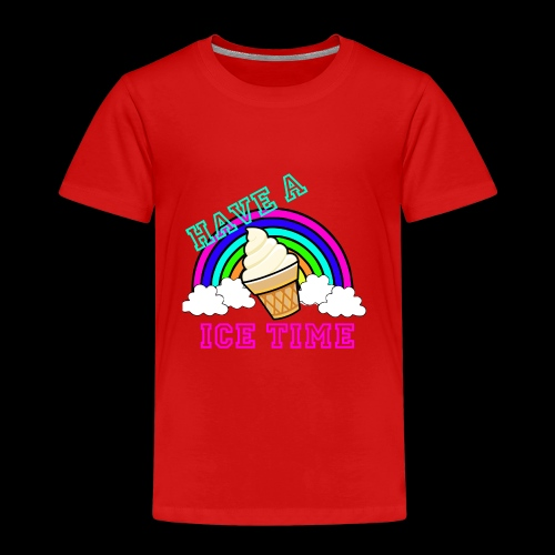 have ice time - T-shirt Premium Enfant