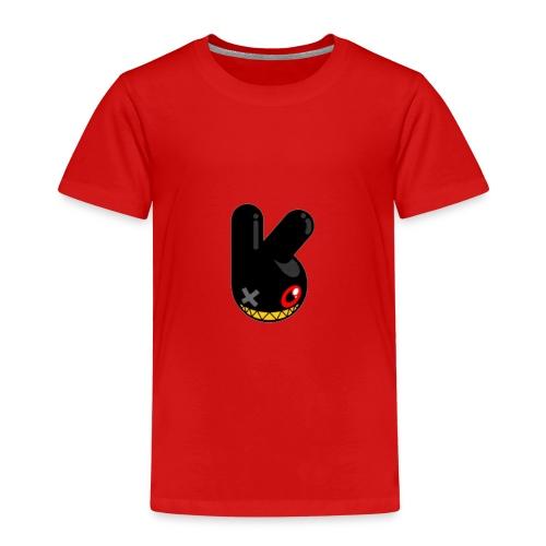 BLACK BUNN KING - Kinderen Premium T-shirt