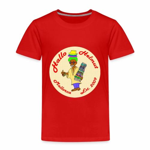 Hallo Helmut Est. 2009 Logo 2 - Kinder Premium T-Shirt