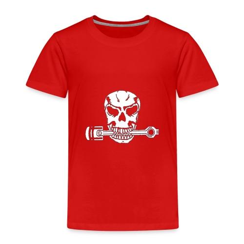 Weiß kolbenfresser - Kinder Premium T-Shirt