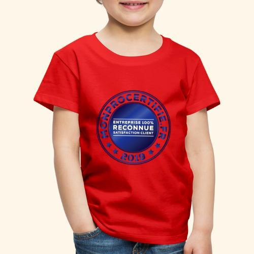 MONPROCERTIFIE - T-shirt Premium Enfant