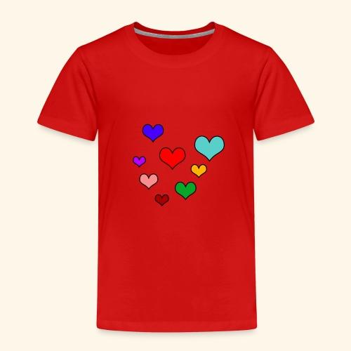 Herzen Funny - Kinder Premium T-Shirt