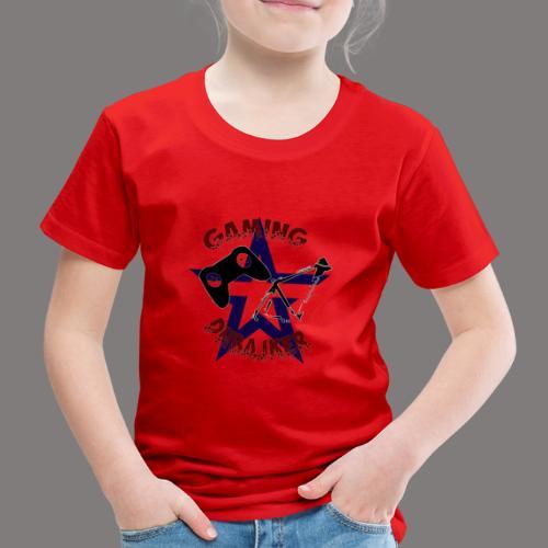 dhbajker gaming Stern - Kinder Premium T-Shirt