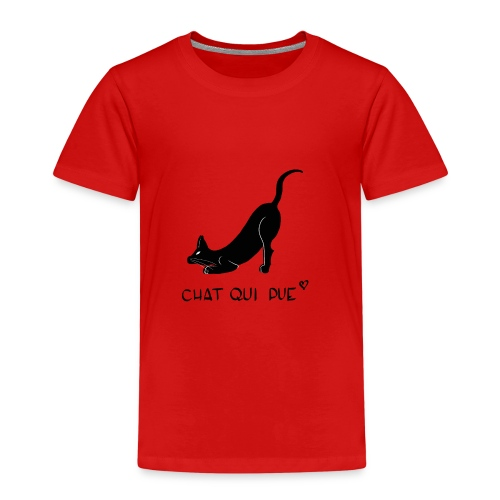 Chat qui pue - T-shirt Premium Enfant
