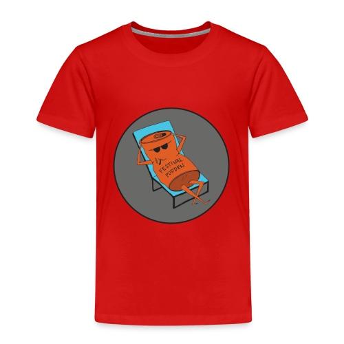 Festivalpodden - Loggan - Premium-T-shirt barn