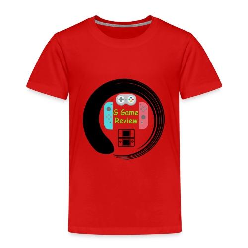 G Game Review Logo - Kids' Premium T-Shirt