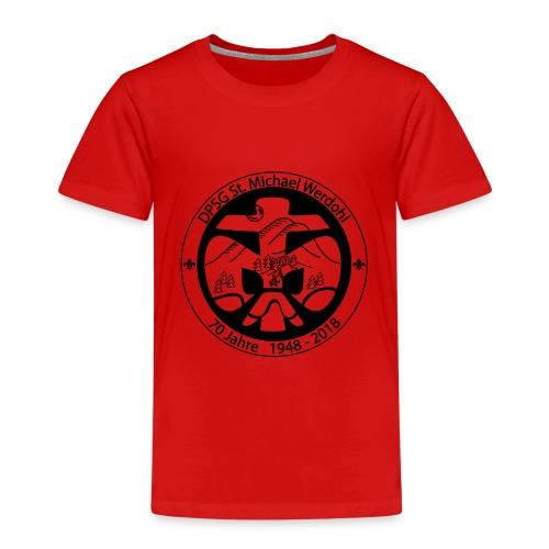 Logo Aufnaeher Jubi SW - Kinder Premium T-Shirt