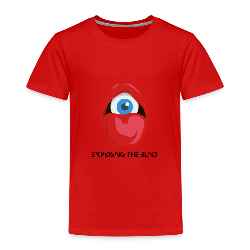 Exposing the blind Logo - Kids' Premium T-Shirt
