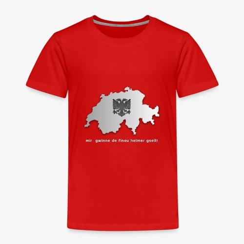 Schweiz & Albanien WM Shirt - Kinder Premium T-Shirt