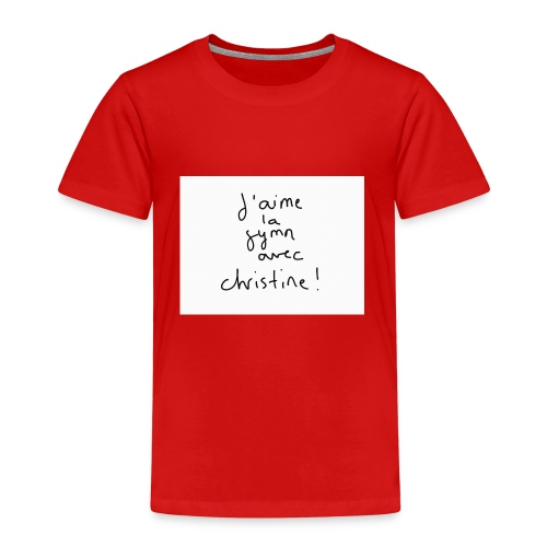 Gymn avec Christine - T-shirt Premium Enfant