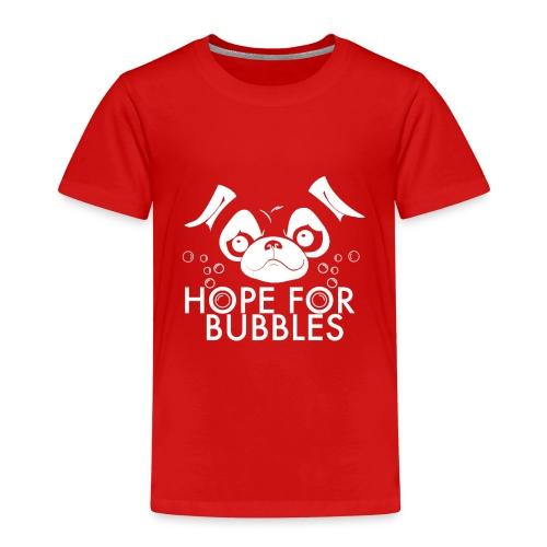 HOPE FOR BUBBLES WHITE MERCH - Kinderen Premium T-shirt