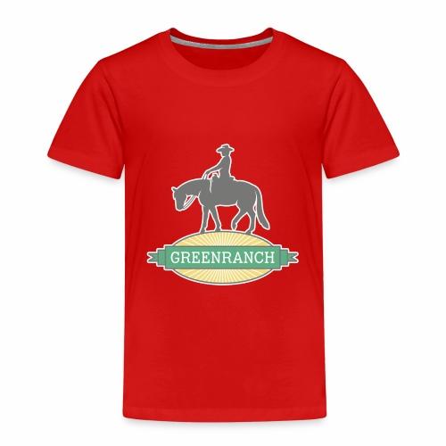 Greenranch Logo mit weissem Rand - Kinder Premium T-Shirt