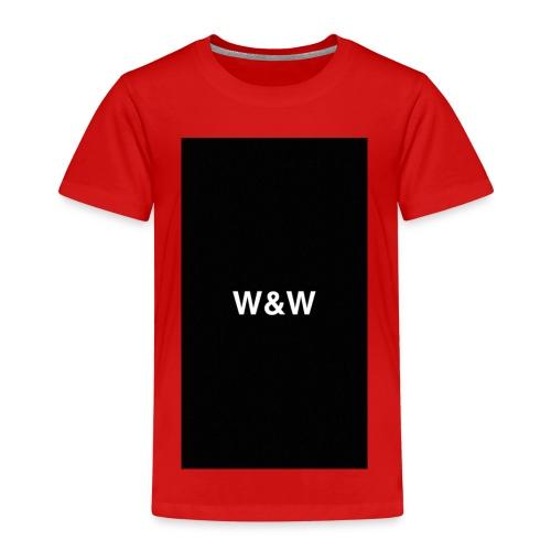 W&W Logo - Kids' Premium T-Shirt