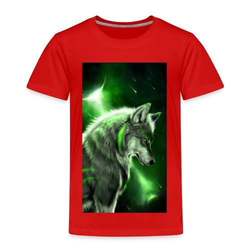 Wolf des lebens - Kinder Premium T-Shirt