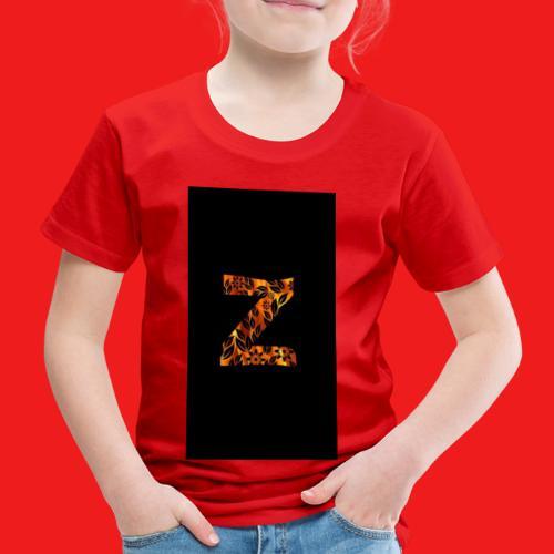 Das Z in tiger format - Kinder Premium T-Shirt