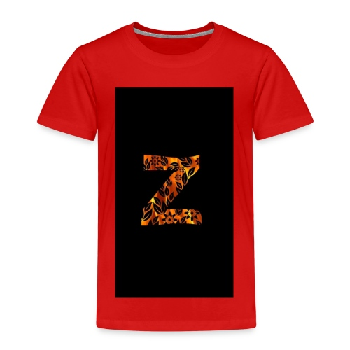 Das Z in tiger format - Kinder Premium T-Shirt