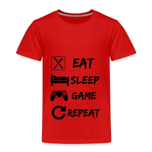 Eat_Sleep_Game_Repeat - Camiseta premium niño