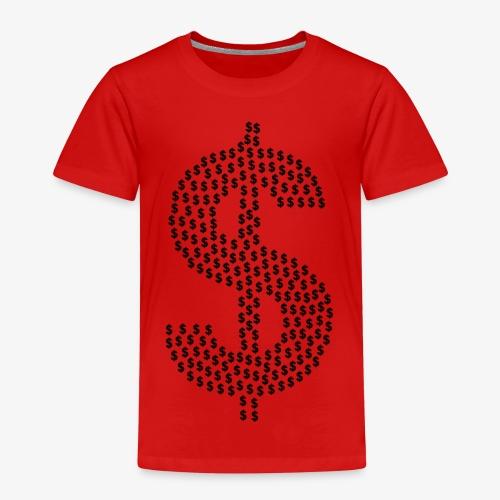 dollar sign 2028567 1280 - Kinder Premium T-Shirt