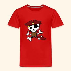 KavalierPirat Captain Logo - Kinder Premium T-Shirt