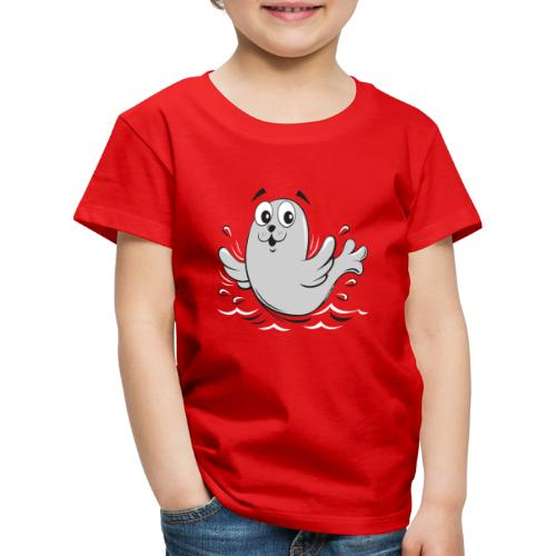 10-43 FUN BABY SEAL PRODUCTS - Lasten premium t-paita
