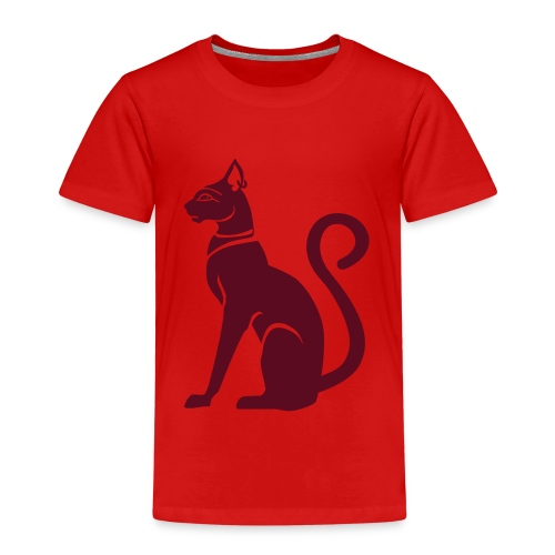 Bastet - Katzengöttin im alten Ägypten - Kinder Premium T-Shirt