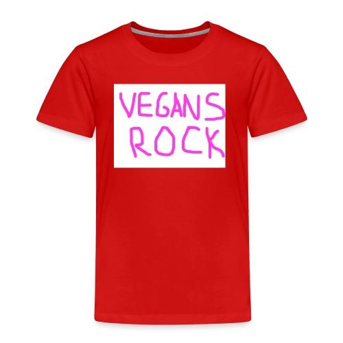VEGANS ROCK - Kids' Premium T-Shirt
