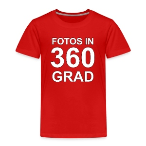 Fotos in 360 Grad - Kinder Premium T-Shirt