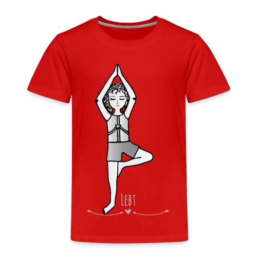 Die Hüterin der Kinder- Yoga- Die Hüter von Orbis - Kinder Premium T-Shirt