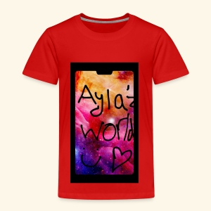 Ayla'z World Galaxy T-Shirt - Kids' Premium T-Shirt