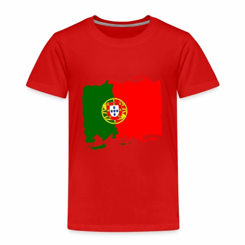 Portugal bandeira - Portugal Flagge - flag - Kinder Premium T-Shirt